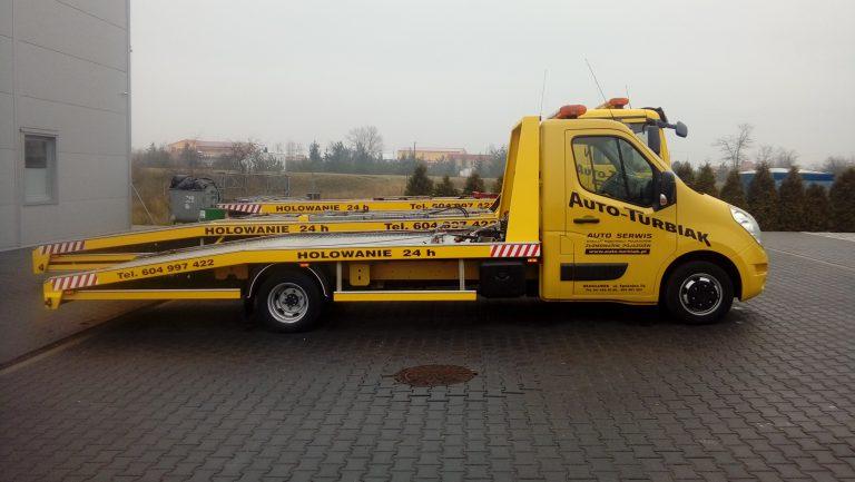Oklejanie samochodów floty Auto Trubiak Reklama Włocławek