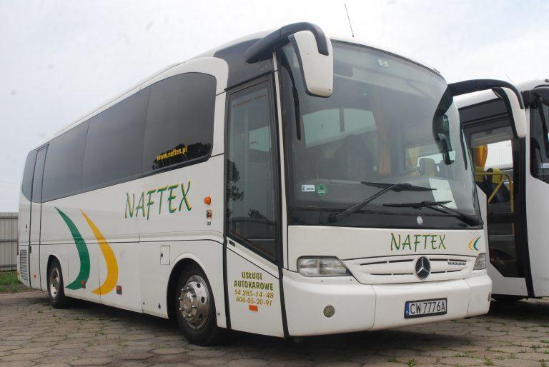 Oklejanie samochodów Naftex Włocławek Reklama
