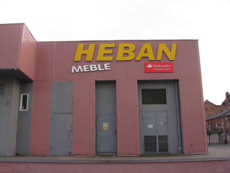 Szyld sklepu Włocławek Reklama
