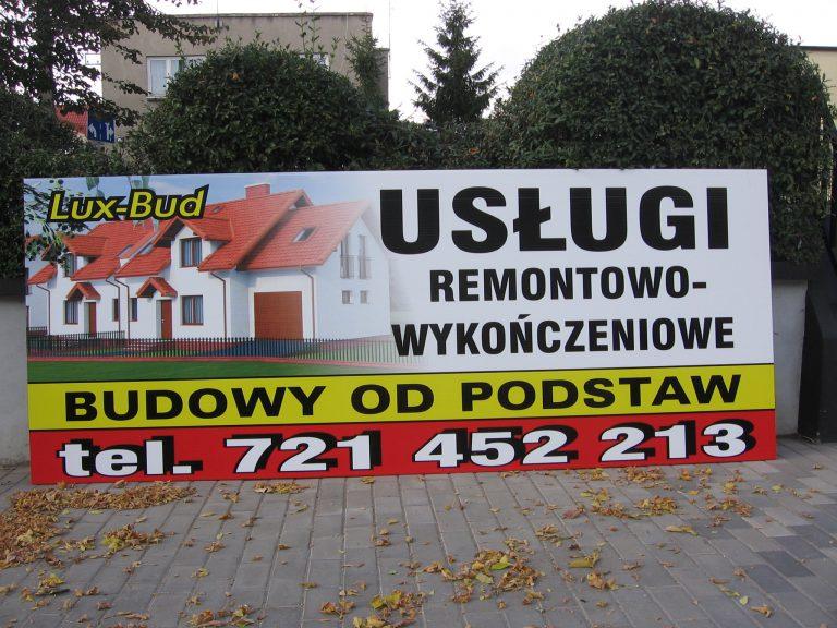 Szyld dla firmy Reklama Włocławek